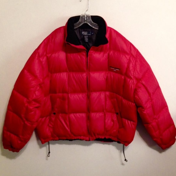 amp; Lauren Red Sport Jackets Coats Polo Ralph By qAxnTw06I